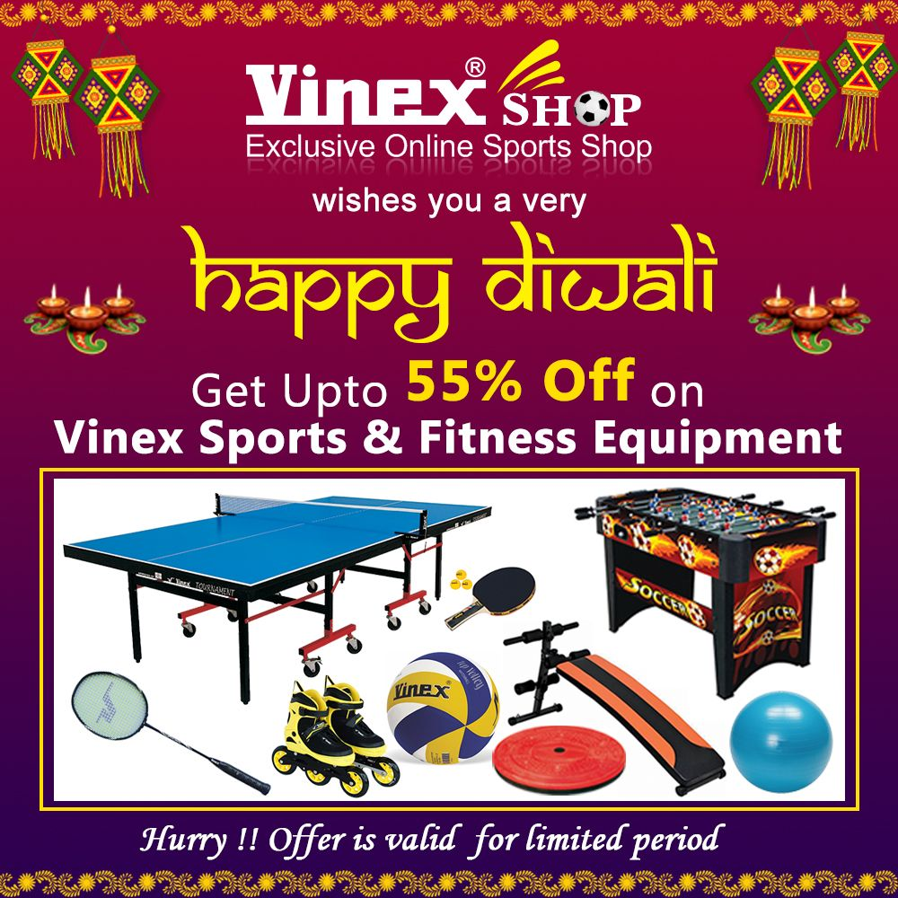 Diwali Special Offer Get Upto 55 Discount On Wide Range Of Vinex Sports Fitness Equipment Hurry Up Grab No Equipment Workout Sport Fitness Special Offer