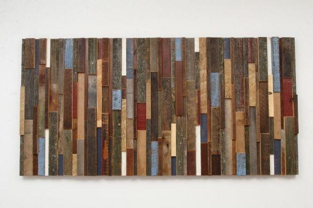 Verschiedene Holzarten holz upcycling deko wand verschiedene holzarten patina