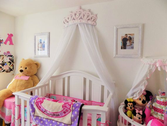 Princess Diamond And Pearl Crown Canopy