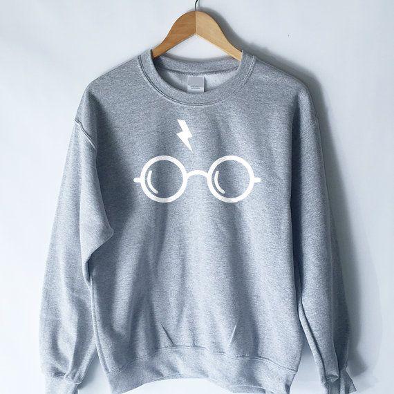 cd6951d2e7af Harry Potter Sweatshirt Harry Potter Shirt by WildHeartsUSA | Doctor ...
