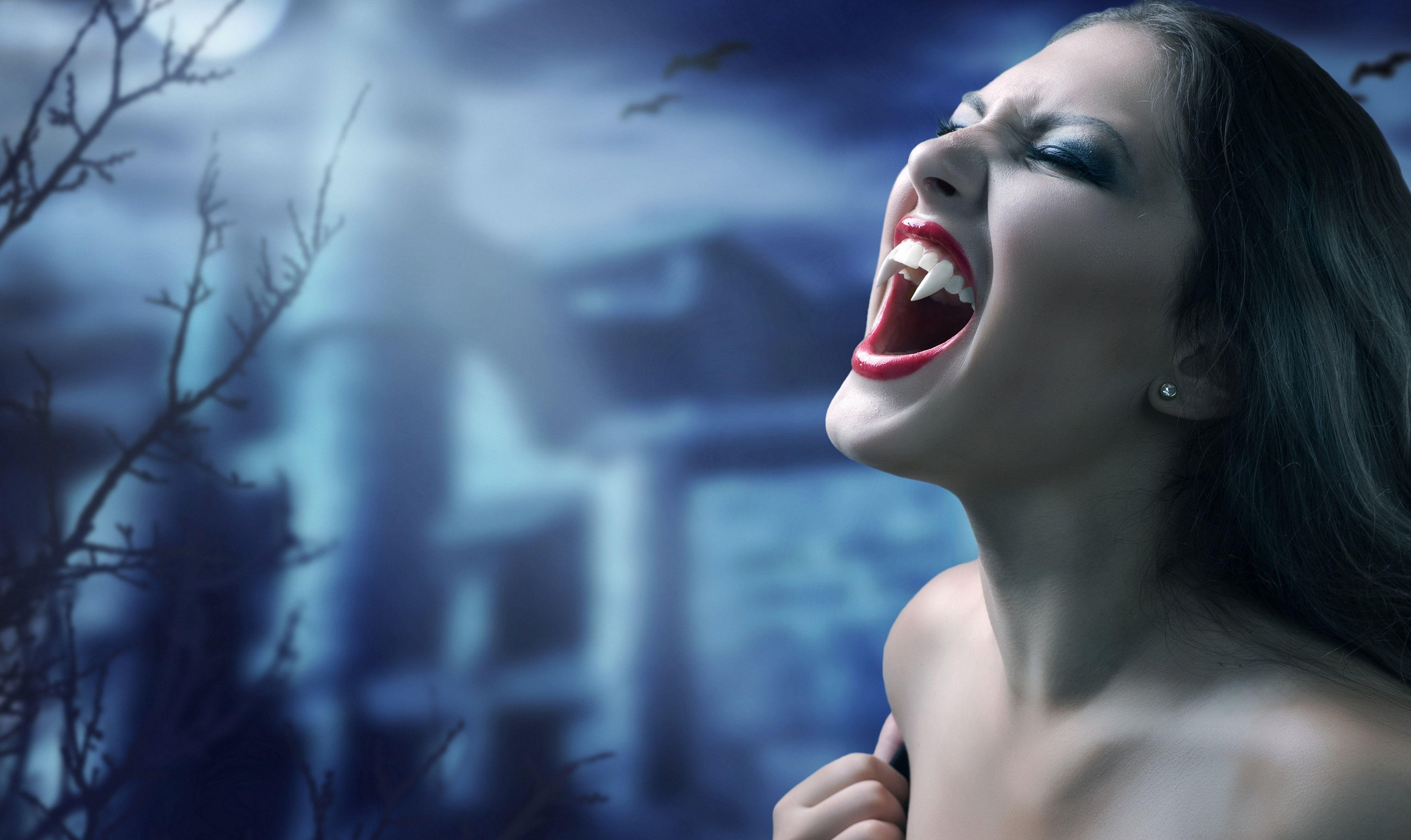 vampire- the blood sucking demon.