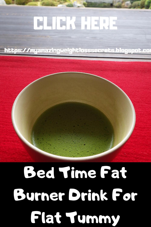 Bed Time Fat Burner Drink For Flat Tummy