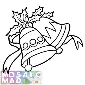 Christmas Jingle Bells Pattern Christmas Bells Drawing Free Printable Coloring Pages Flower Coloring Pages
