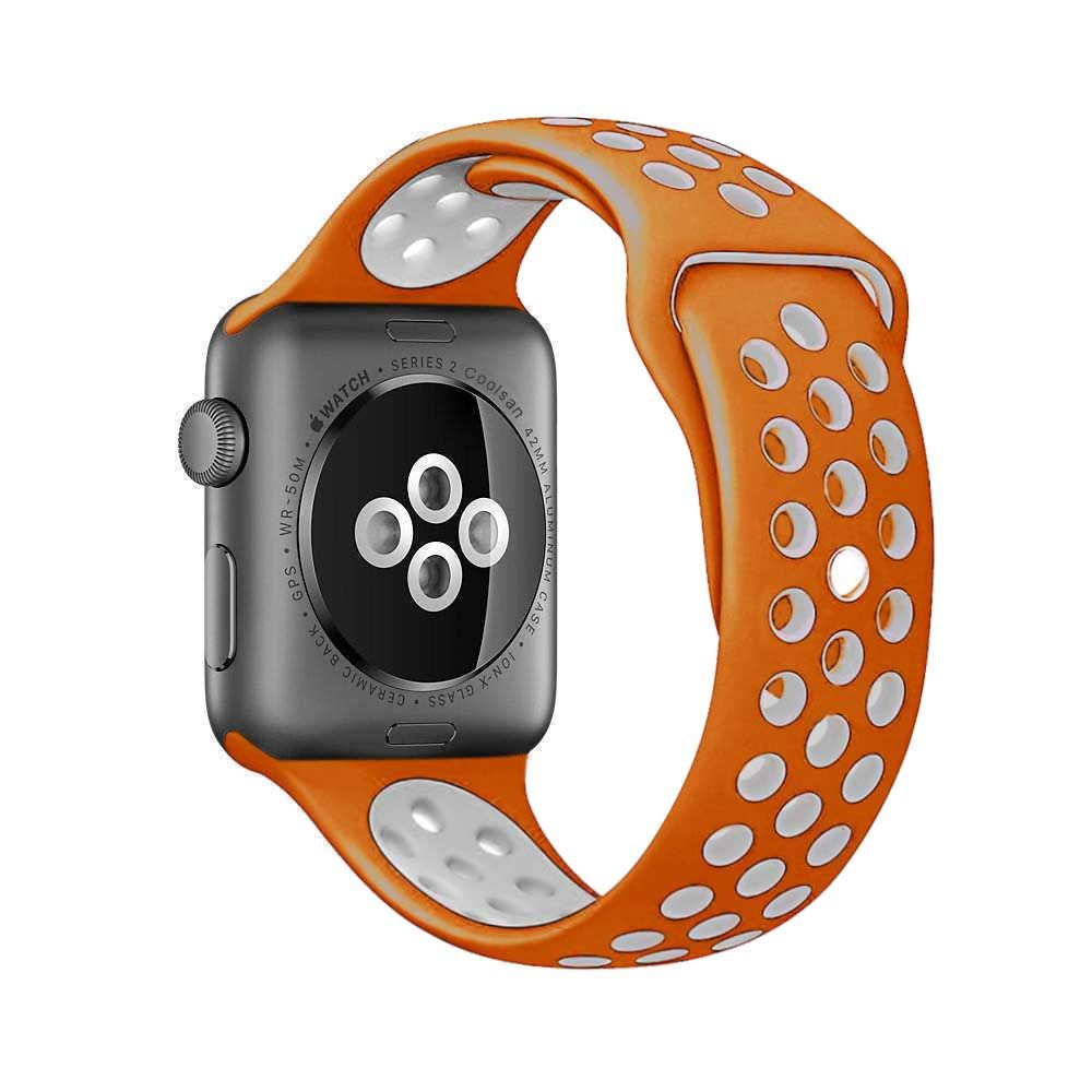 Brand sport silicone strap band for Nike apple watch