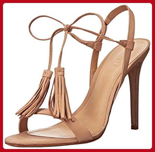 Schutz Women S Maggie Dress Sandal Lightwood 6 5 M Us All About Women Amazon Partner Link Tassel Sandals Dress Sandals Tassel Shoes