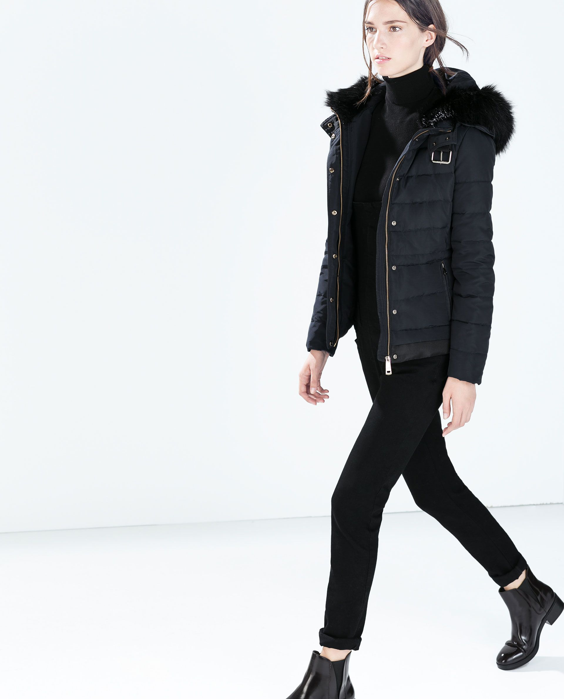 With Puffer Zara139And Buckle I Hooded Jacket From 0w8OvmnN