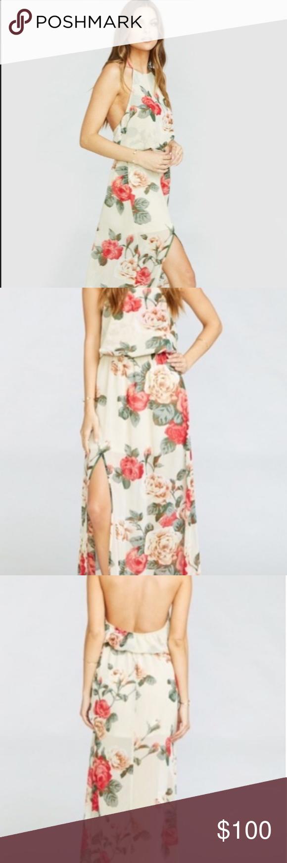 NWT Show me Your mumu Heather halter dress women Pinterest Loose