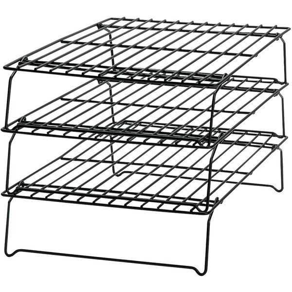3 Tier Cooling Rack Baking Baker S Cooking Tools Utensils Supplies Cookie Stand Cupcakes Muffins Brownies Cornbread Candy Cak Cooling Racks Wilton Baking Tools