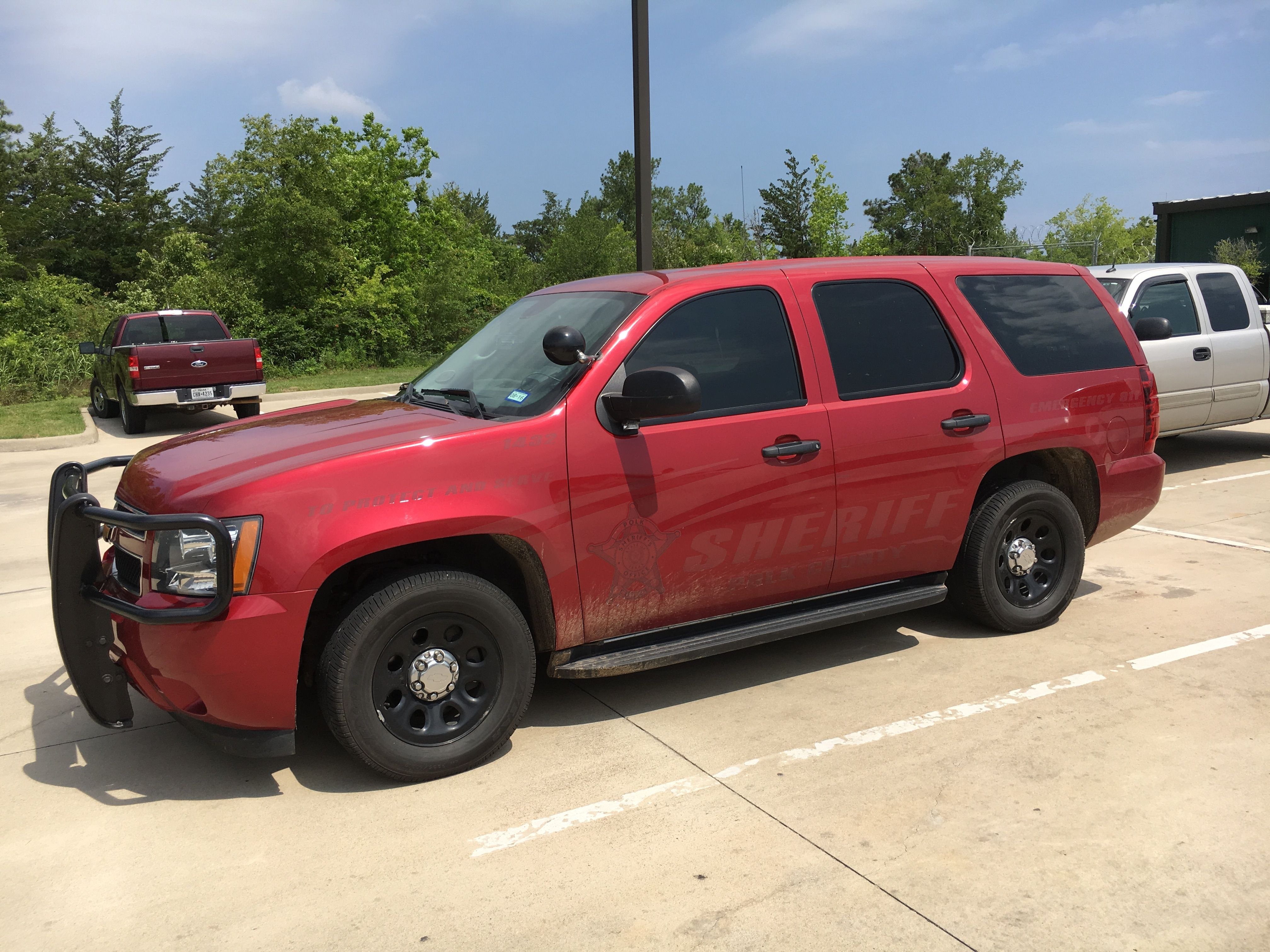 Polk County Sheriff S Office Ghost Chevy Tahoe Texas Police