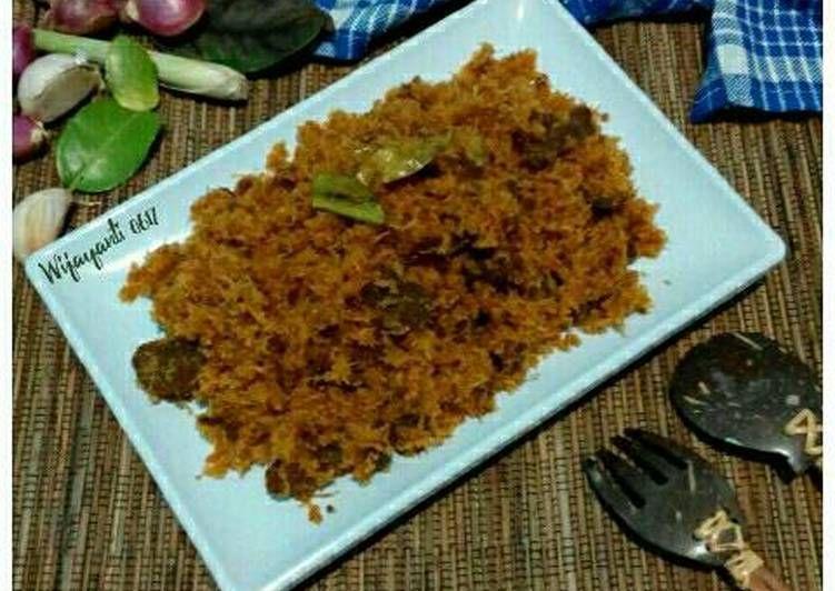 Resep Serundeng Daging Oleh Wijayanti Resep Ide Makanan Resep Daging