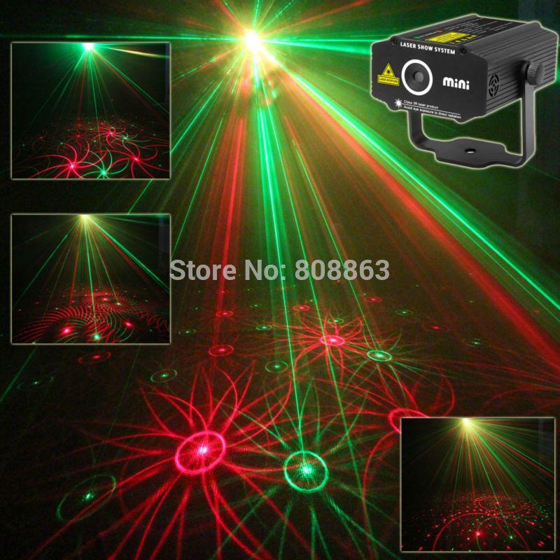 Nuovo Mini modelli 4in1 Girasole Whirlwind R & G Proiettore Laser di Illuminazione fase Della Discoteca del DJ Club KTV xmas famiglia festa SPETTACOLO di luci p17