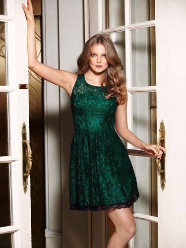 dd9ee521b796 11 Holiday Dresses Under $100 | Fashion | Flare Dress, Dresses, Fashion