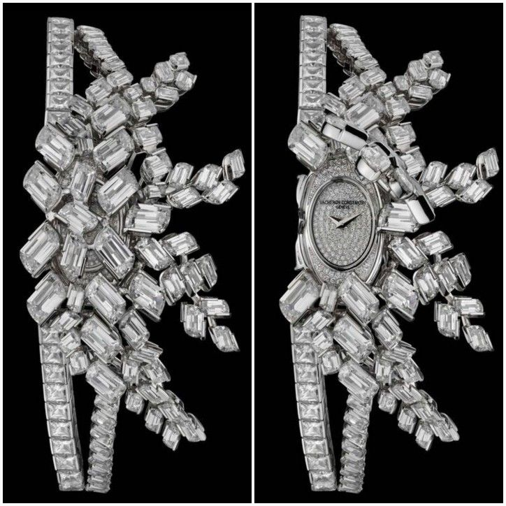 Lady Kalla Haute Couture à Secrets, adorned with flame-cut Diamonds by VACHERON CONSTANTIN