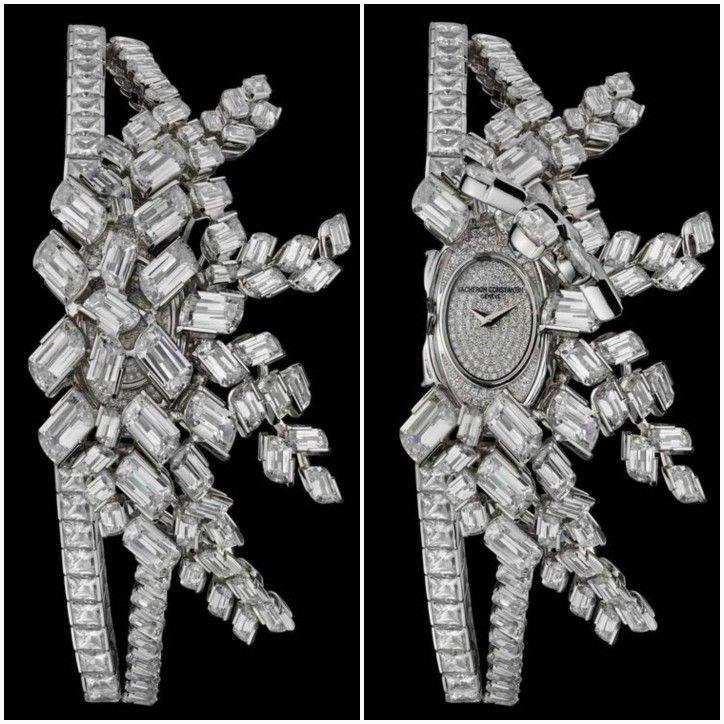 Lady Kalla Haute Couture à Secrets, adorned with flame-cut Diamonds byVACHERON CONSTANTIN