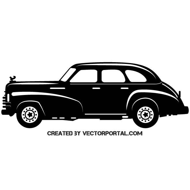 Classic Vintage Car Vector With Images Car Vector Vector