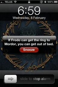 It's hard to remember this when you've only gotten six hours of sleep after staying up ridiculously late reading...