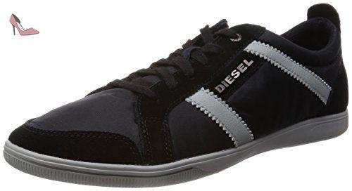 DIESEL - Baskets basses - Homme - Sneakers Noir Blanc Beat Ween Low pour homme - 42 - Chaussures diesel (*Partner-Link)