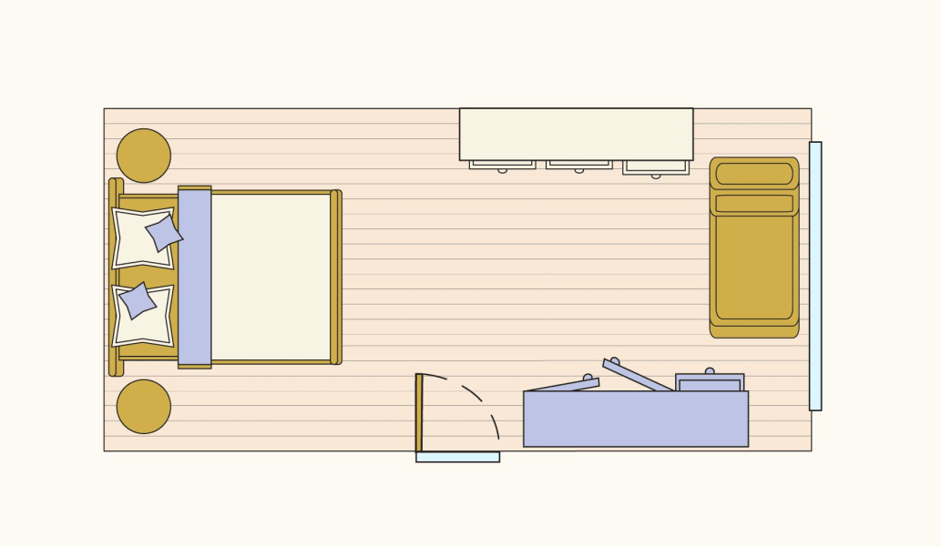 Find Your Best Bedroom Layout with a Queen-Sized Bed ...