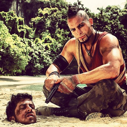 Vaas In Far Cry 3 My Friend Michael Mando Torturing Mcluvin
