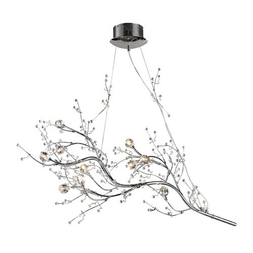 "Seattle Lighting Elk Lighting Chandelier in Polished Chrome Finish | 30032/10 | Destination Lighting 950 40"" wide x 39"" high"