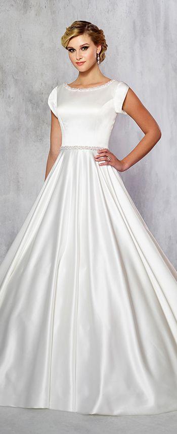Modest Wedding Dresses Modest By Mon Cheri Modest Wedding Dresses Wedding Dresses Modest Bridal Gowns