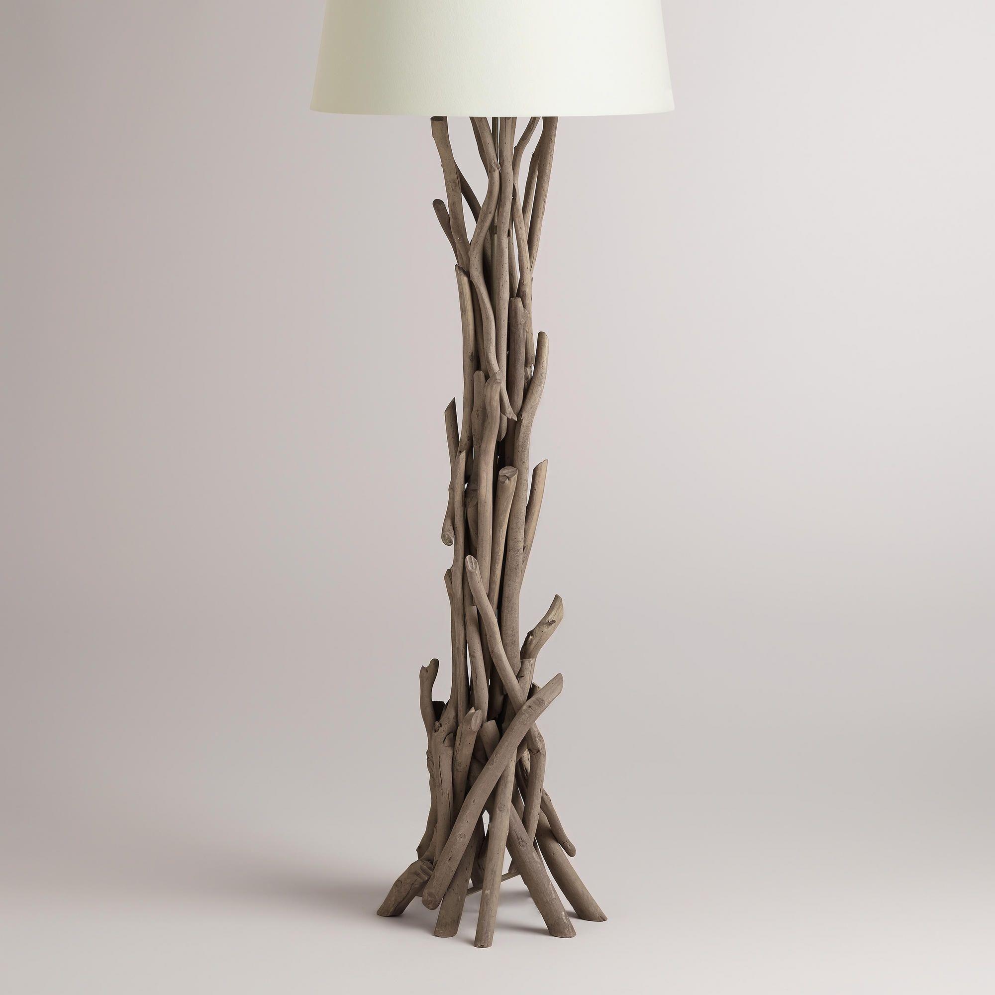 Driftwood Floor Lamp Base Driftwood Lamp Floor Lamp Base Lamp Bases
