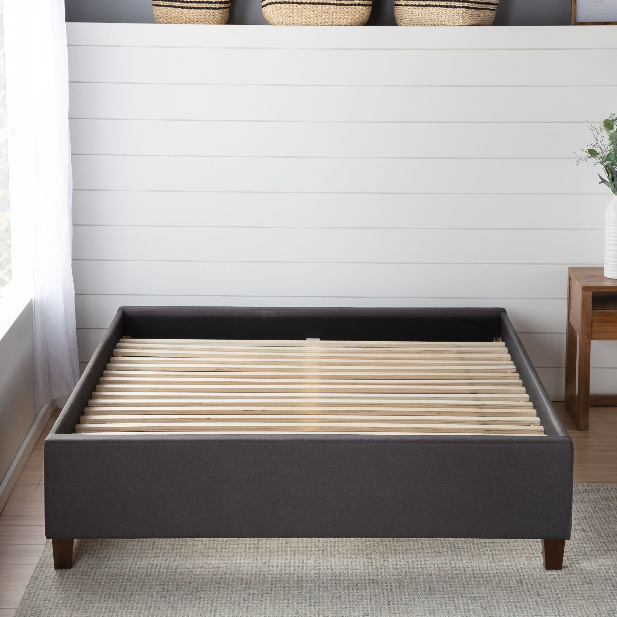 Brookside Upholstered platform bed, Platform bed, Upholster