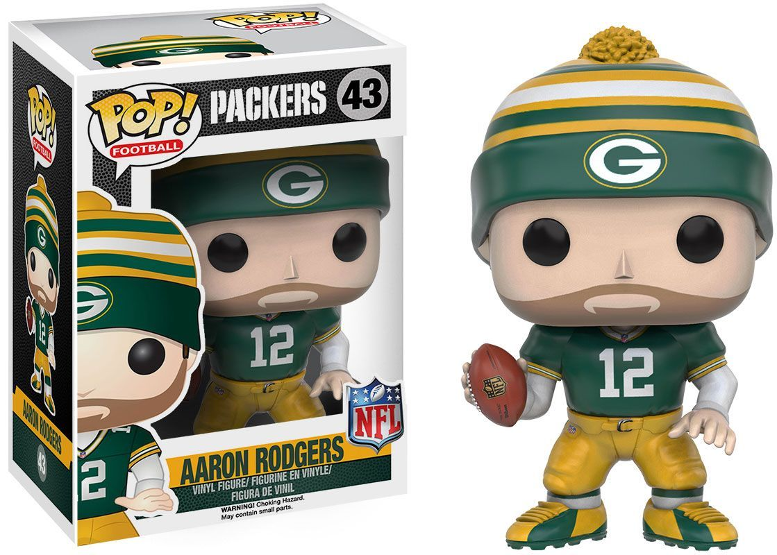 Funko Pop Green Bay Aaron Charles Rodgers Figure Team In 2020 Aaron Rodgers Vinyl Figures Aaron Rogers