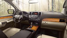 Nissan Armada Platinum With Platinum Reserve Package Shown In Chocolate Almond Leather Nissan Armada Nissan Armada