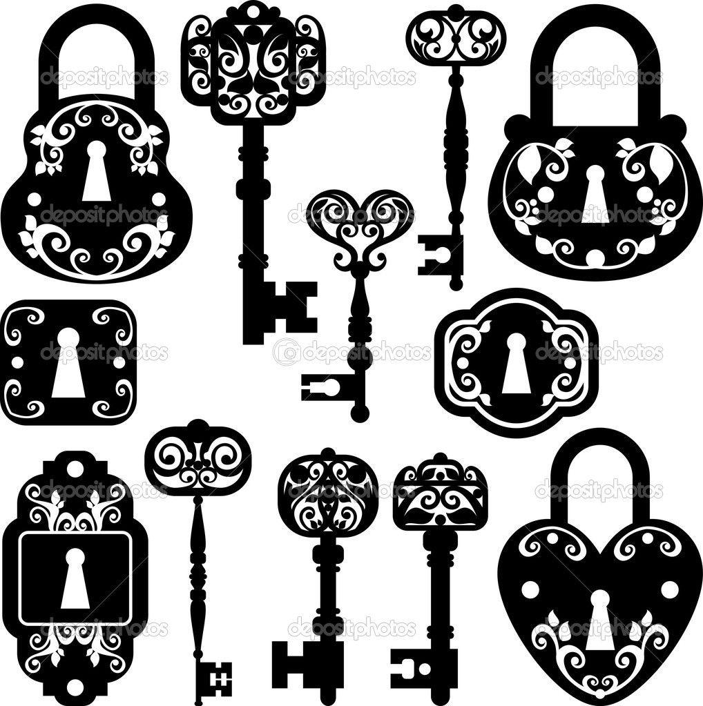 Lock And Key Clip Art Free