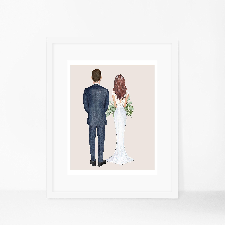 Bride Gift Wedding Bride Groom Bridesmaid Maid Of Honor