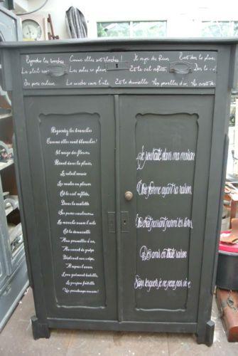 alt und antik Kommode shabby Vintage Landhaus Schrank Unikat Vertiko