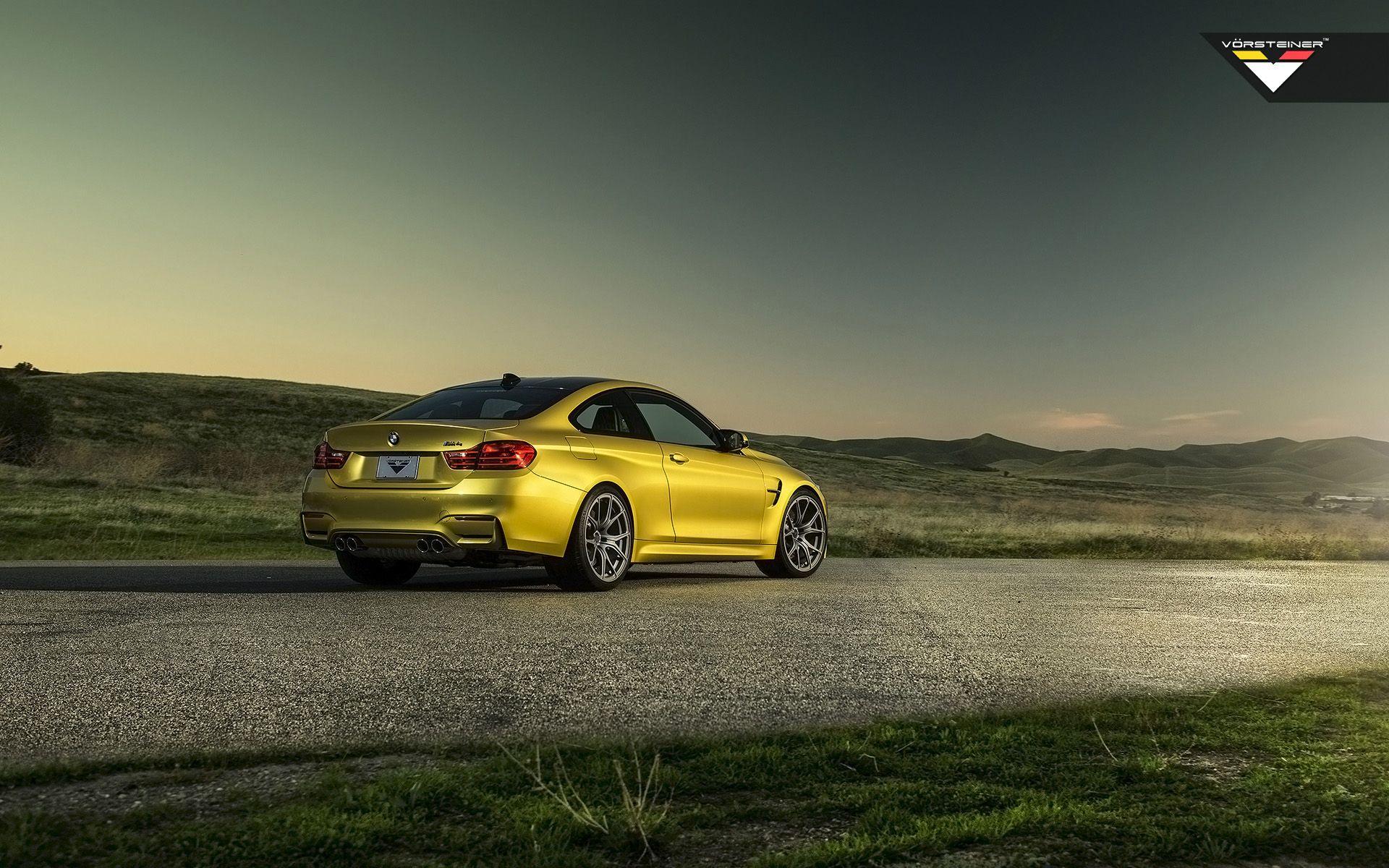 2014 Vorsteiner BMW M4 Austin Yellow Static 4