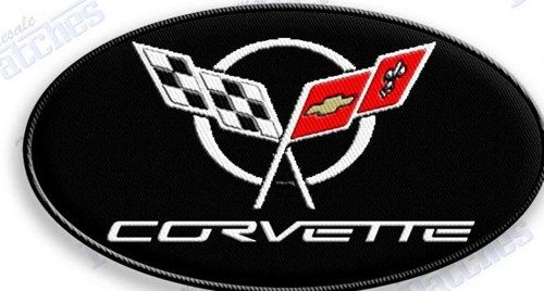 Corvette C5 Iron On Embroidered Patch Patches Vette Auto