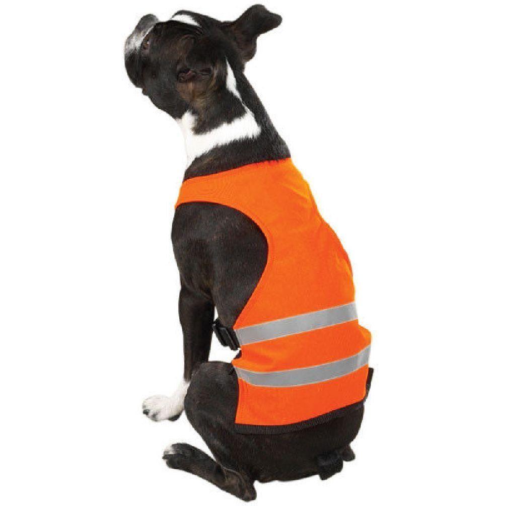 Dog safety vest reflective 6 sizes orange guardian gear