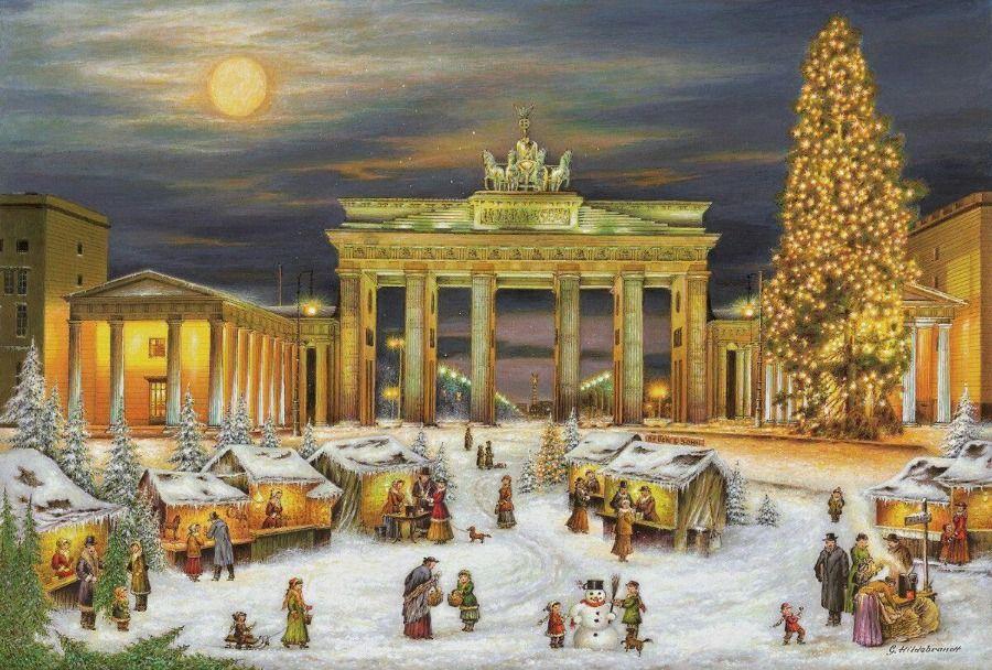 Vedutenmalereien Von Berlin Allgemeine Und Uberbezirkliche Themen Berlin Architekturforum Architectura In 2020 Mit Bildern Weihnachten In Berlin Adventkalender Adventskalender