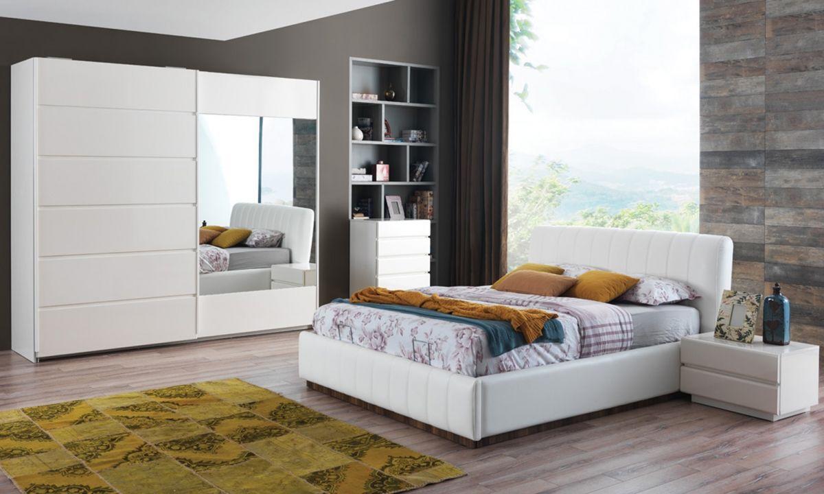 Modern yatak odalar sude yatak odas takm - Bedrooms Modern Beyaz Yatak Odas