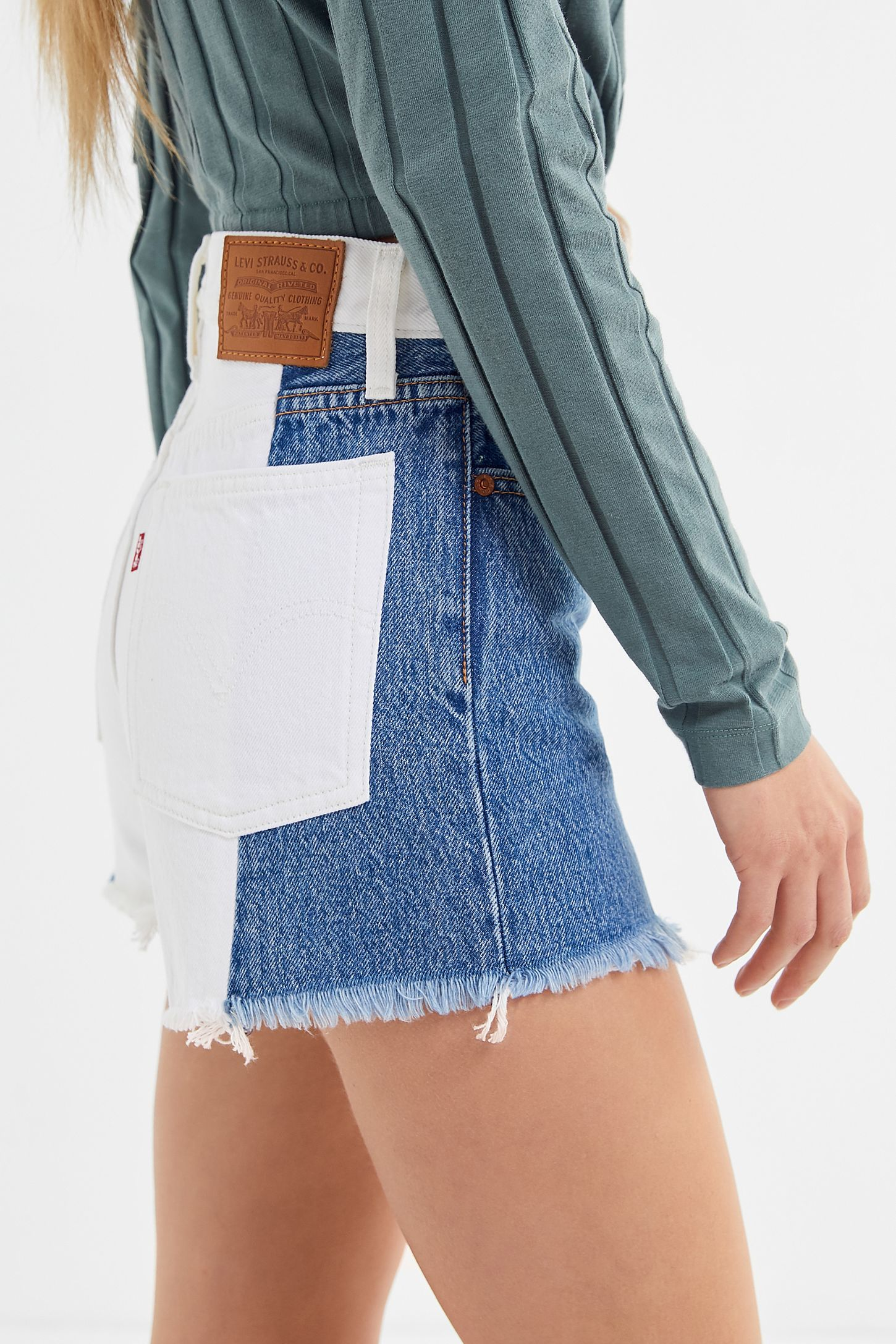 7fffeecc7e Levi's Wedgie High-Rise Denim Short - Two Toned | Urban Outfitters