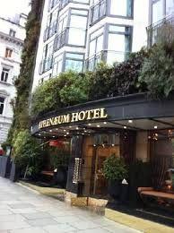The Athenaeum Hotel, 116 Piccadilly, London, United Kingdom.