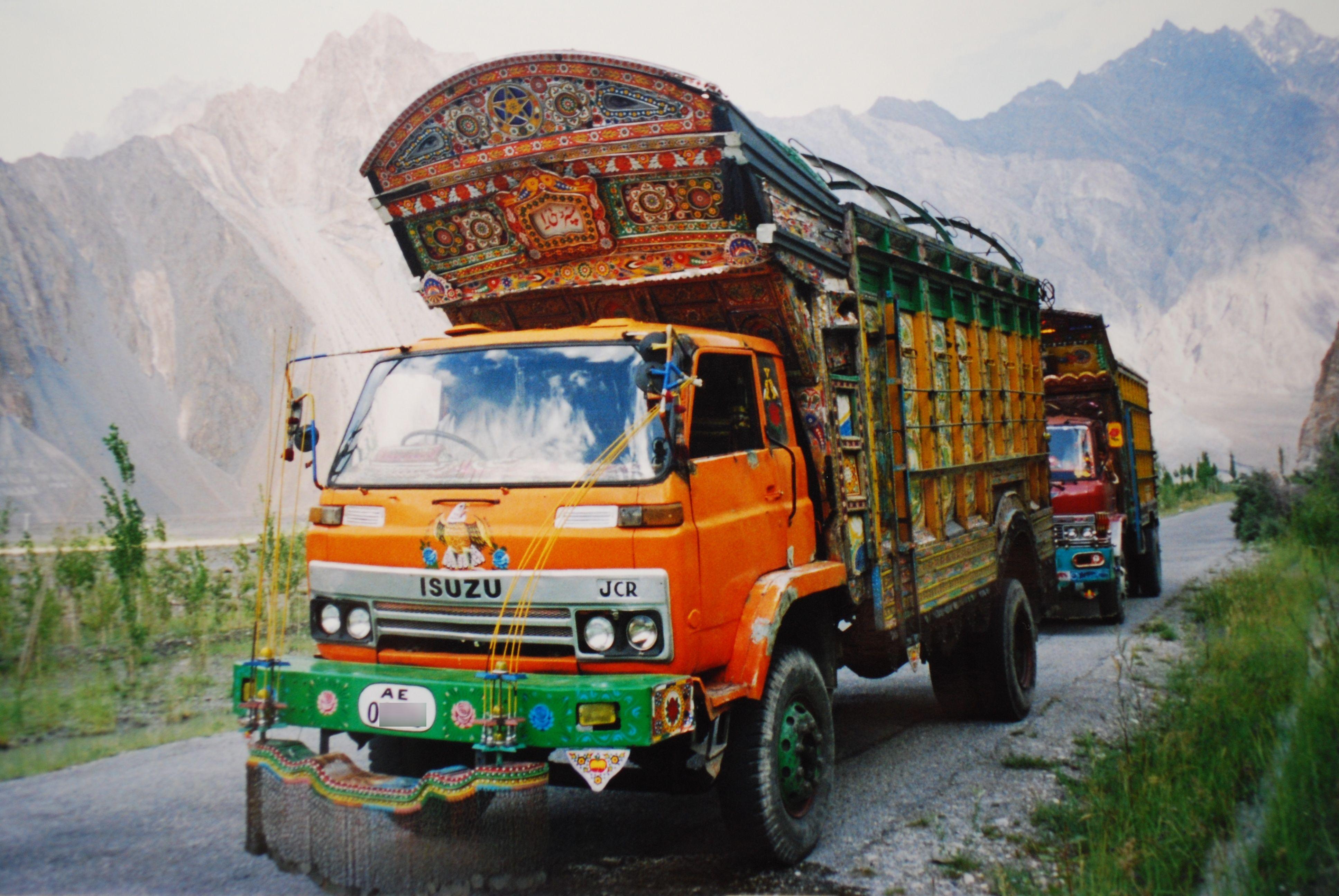 Isuzu Lorry Pakistan  Lorries  Pinterest  Trucks Large and