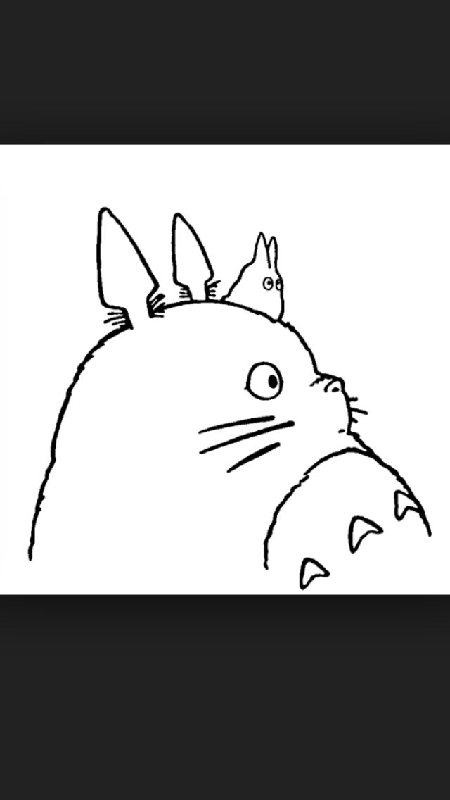 Totoro drawing image by Dara Lewis on Studio Ghibli ...