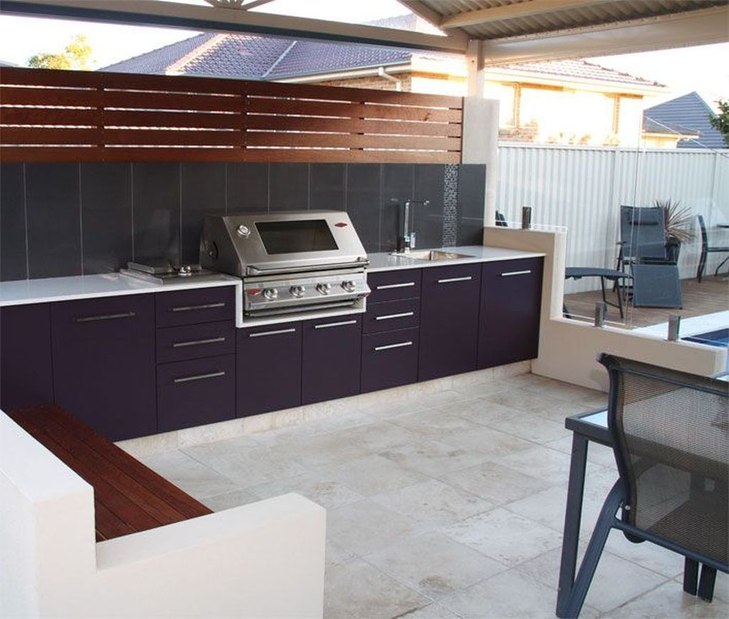 Outdoor Kitchen Cabinets Four Materials That Are Perfect