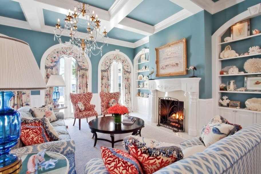Fantastic Coral Fabrics Decorating Ideas