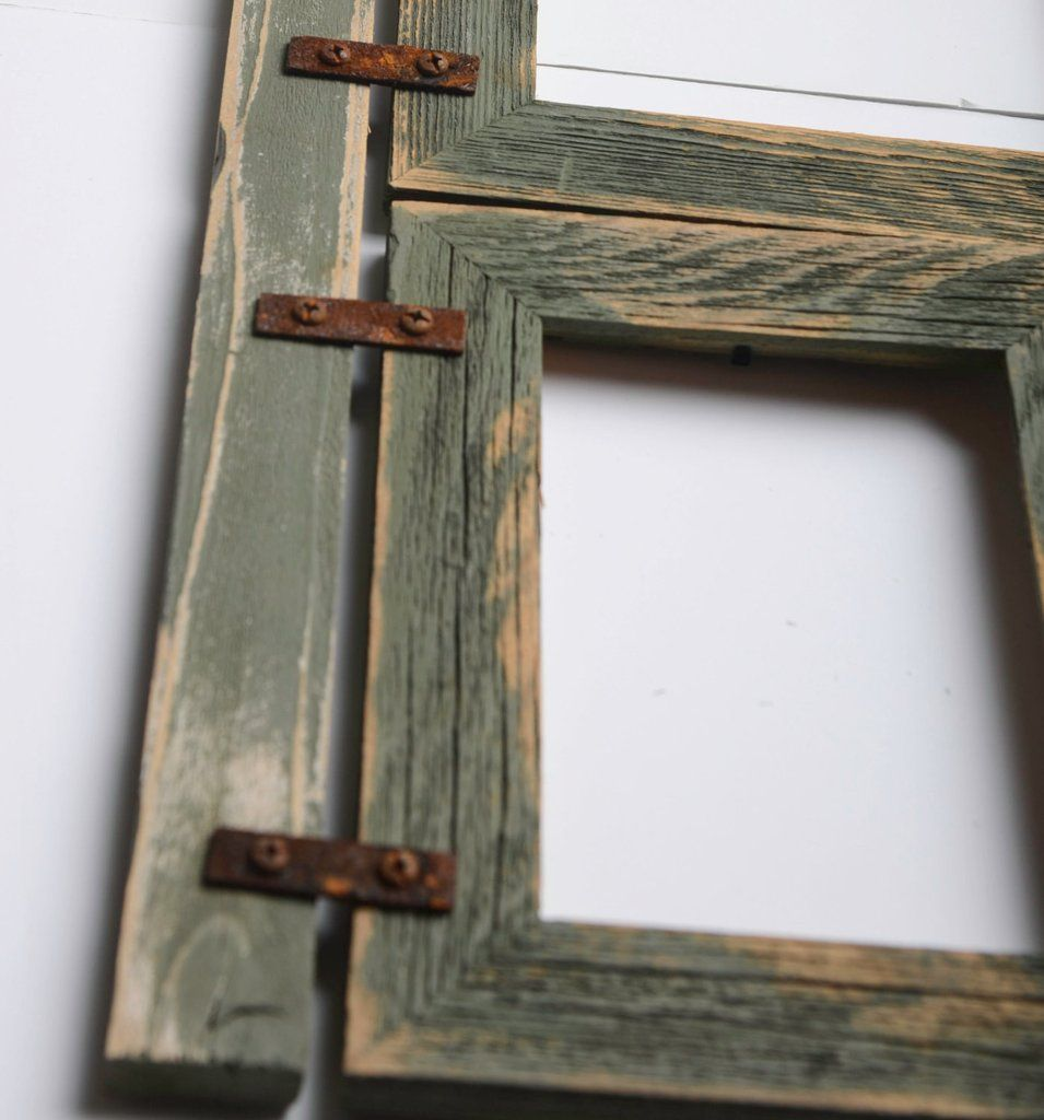 2 | Collage and Rustic picture frames