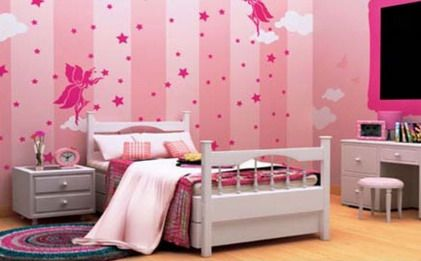 Beautiful Princess Pink Paint Color Schemes For Teenagers Girls