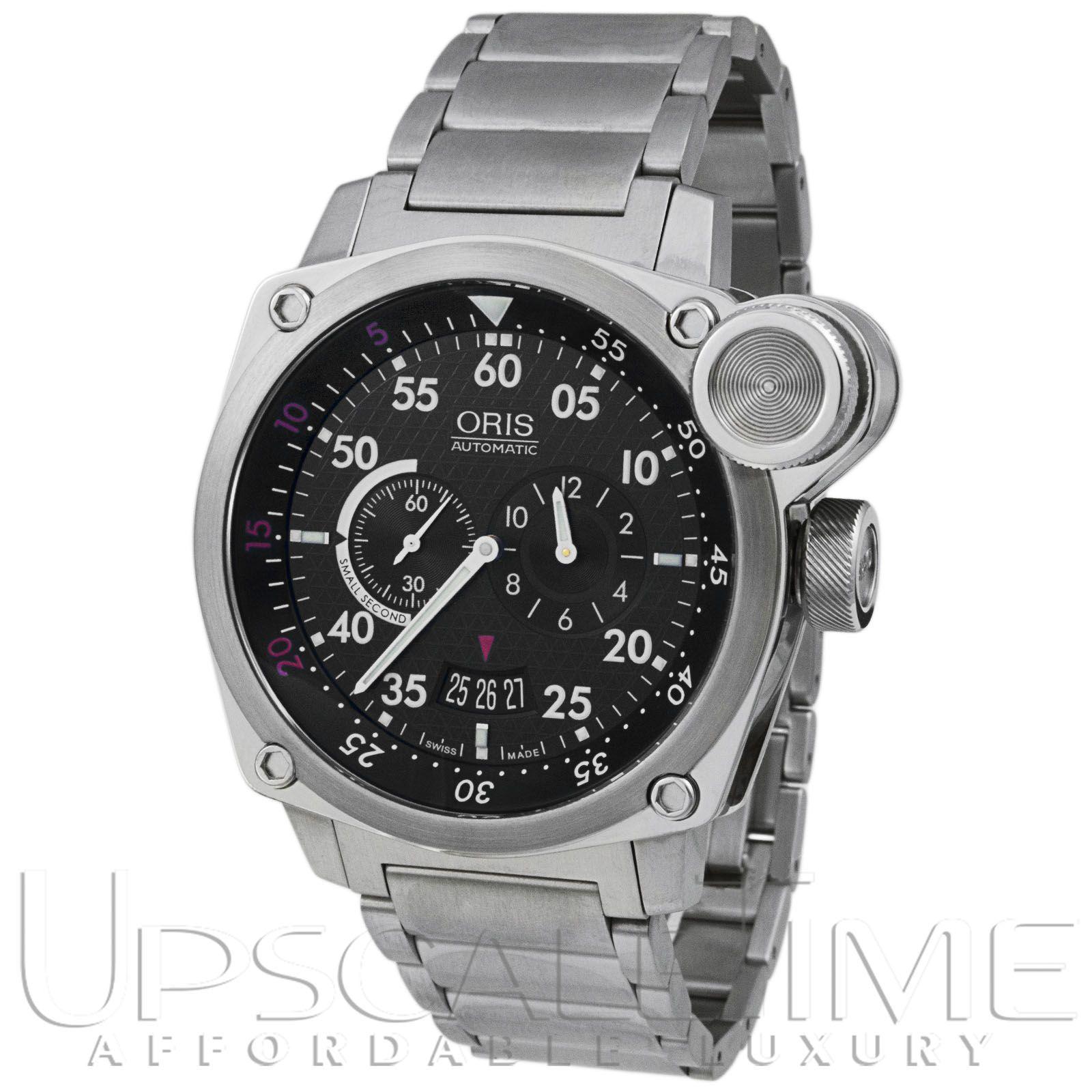 "Oris BC4 ""Der Meisterflieger"" Aviation Chrono Men's Watch 649-7632-4164MB"