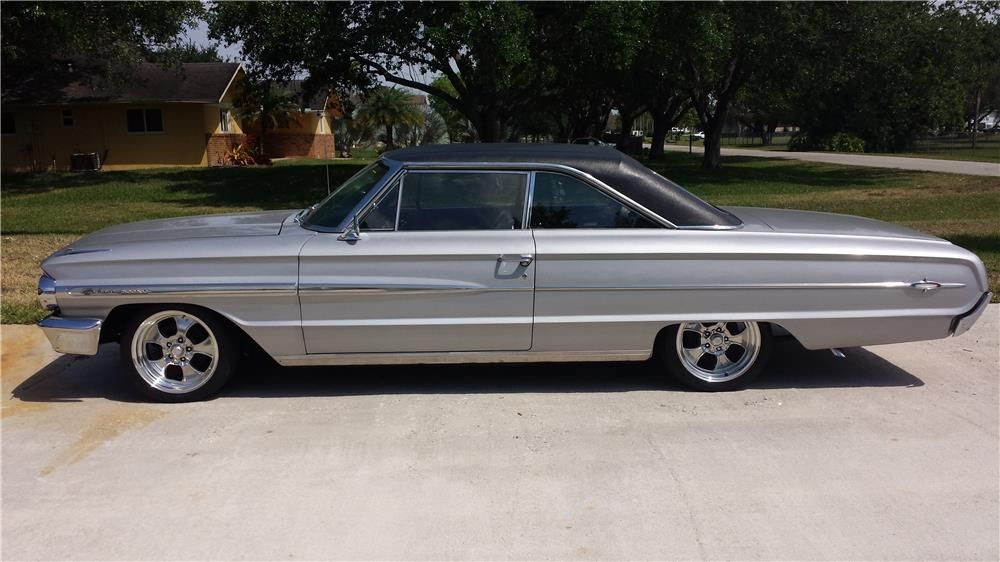 1964 Ford Galaxie 500 Xl Fastback Barrett Jackson Auction