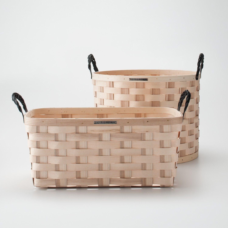 White Ash Baskets Basket Laundry Basket Storage Baskets