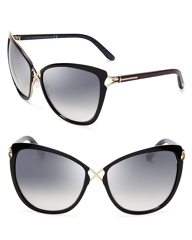 9c122adbefb3 Tom Ford Celia Cat Eye Sunglasses