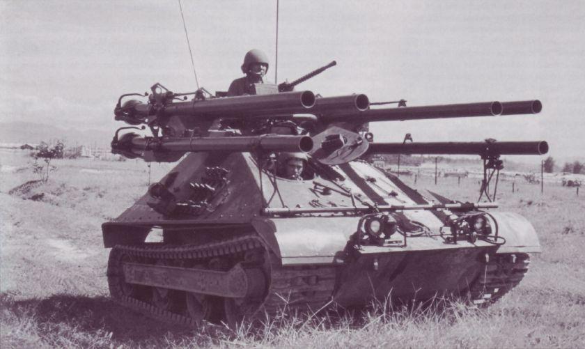 M50 Ontos in Vietnam